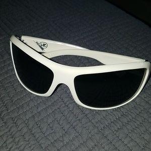 White Polarized Von Zipper Absinthe Sunglasses